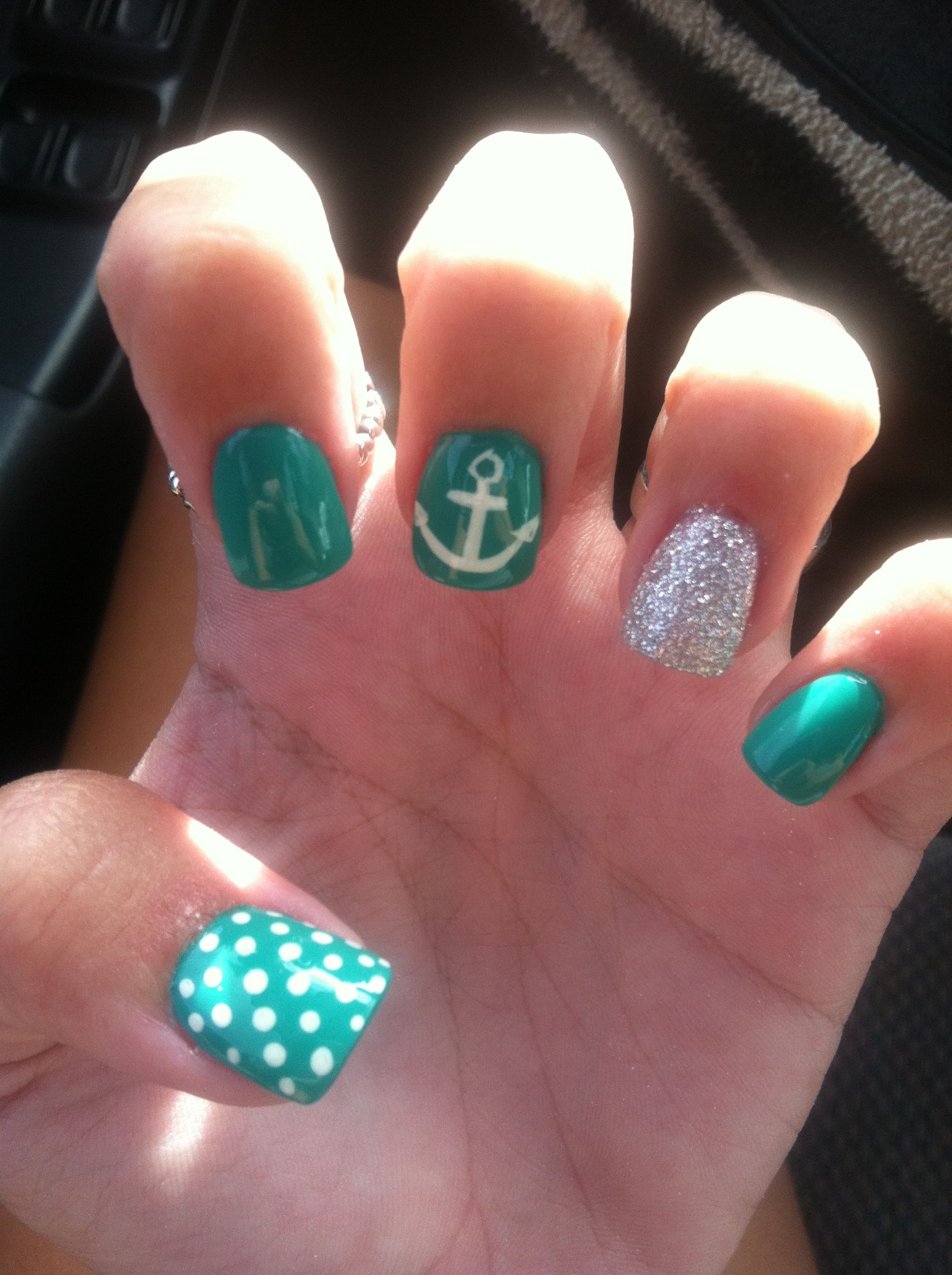Cruise nails! | Hair & Beauty | Pinterest | Cruise nails ...