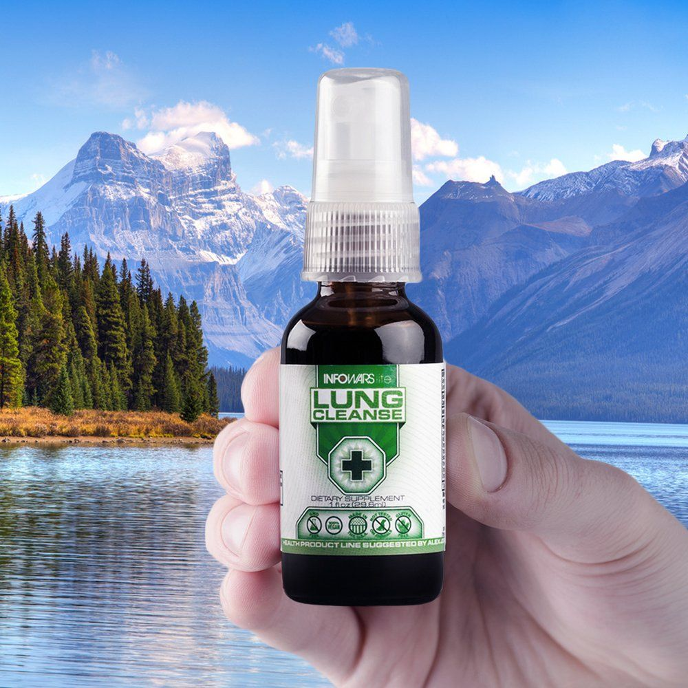 Lung Cleanse Spray 1 Fl Oz A Powerful Lung Cleanser With Organic Herbs Lung Cleanse Organic Herbs Cleanse