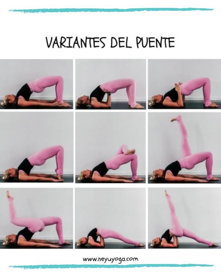 Puente Posturas De Yoga Yoga Estiramientos De Yoga