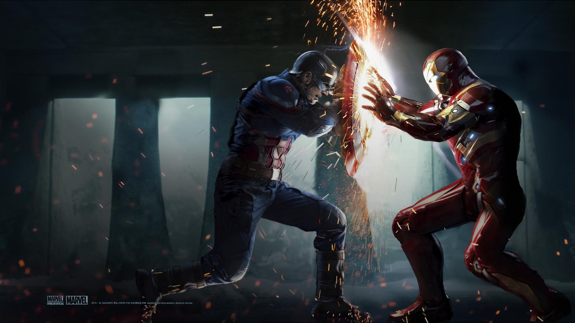 Captain America: Civil War Wallpapers ~ Desktop Wallpaper Box | DRAGON FOR FISHTANK | Civil war ...