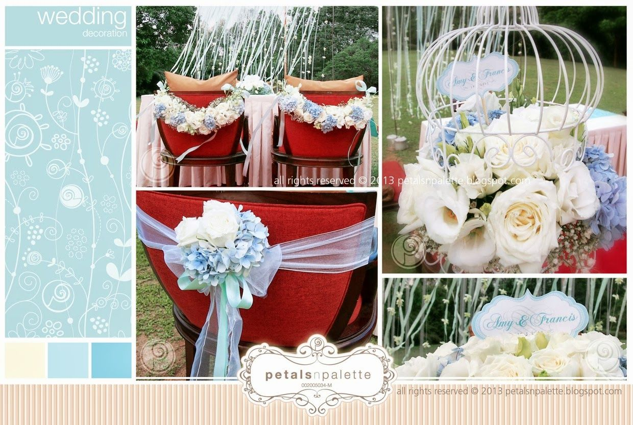banquet chair covers for sale malaysia vanity chairs target petals n palette posted by wedding decoration floral
