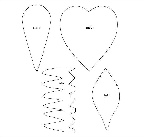 Flower Petal Template - 20+ Free Word, PDF Documents Download - flower petal template