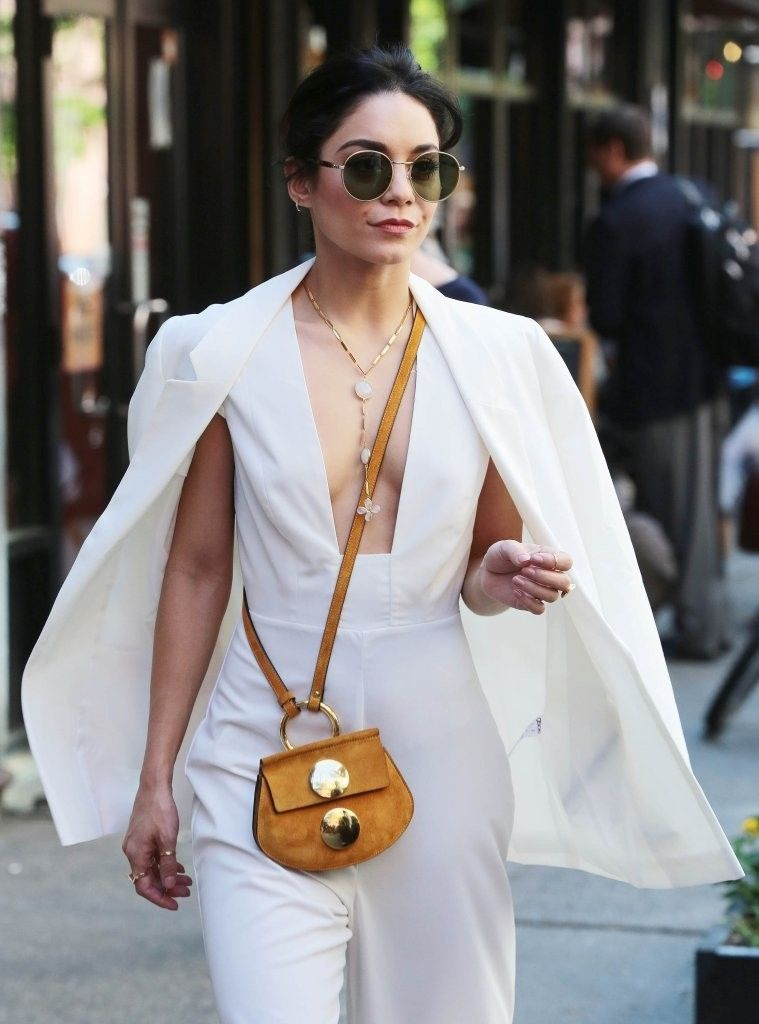 Vanessa Hudgens seen leaving her apartment in New York City, New York on May 19, 2015