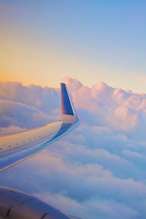 Plane Clouds Wing View Airplane View Airplane Photography Wings Wallpaper