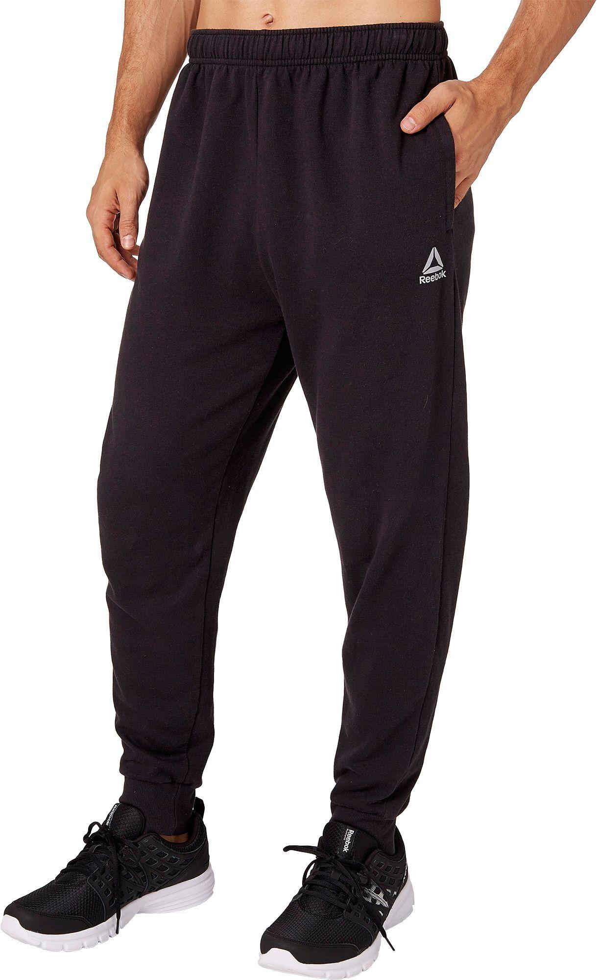 e53f054feb Reebok Men's Cotton Fleece Jogger Pants, Size: XL, Black | Products ...