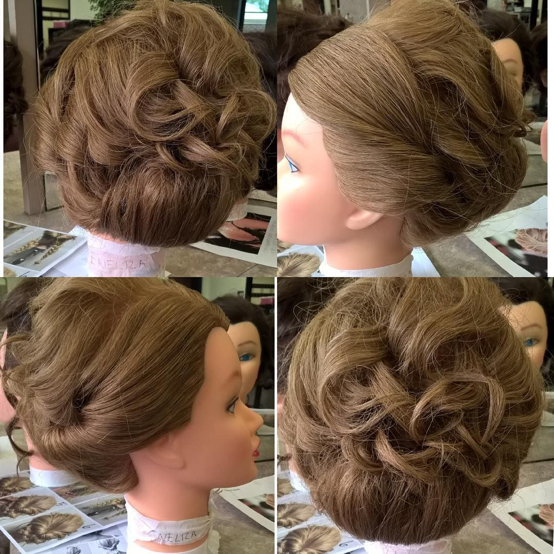 In spirit of prom season hereus an updo i did a while back love