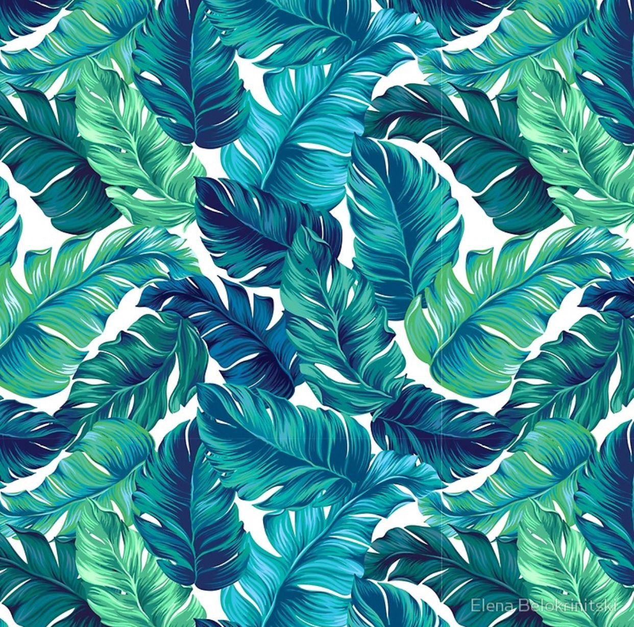 Banana Leaf Pattern Banana leaf pattern, Leaf print