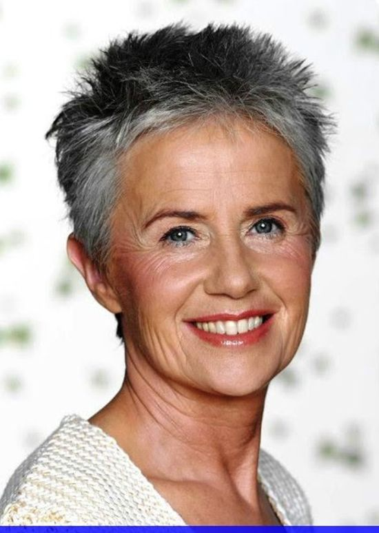 Pin By Lover Styles On Short Hairstyles Over 50 Short Spiky Hairstyles Super Short Hair Short Hair Styles Pixie