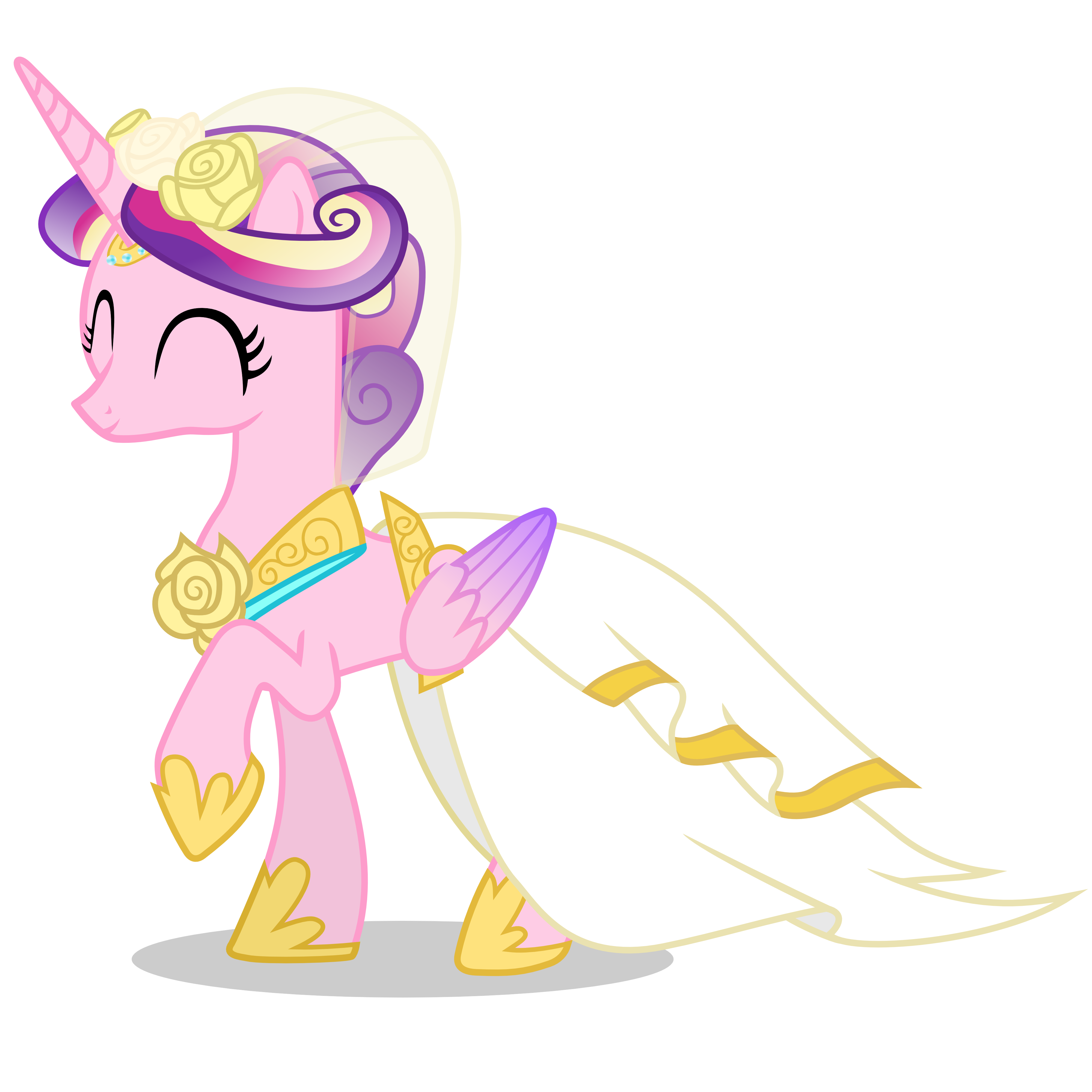 Princess Cadence In A Dress Google Search: Canterlot Wedding Cadence Dress Princess Wedding At Websimilar.org