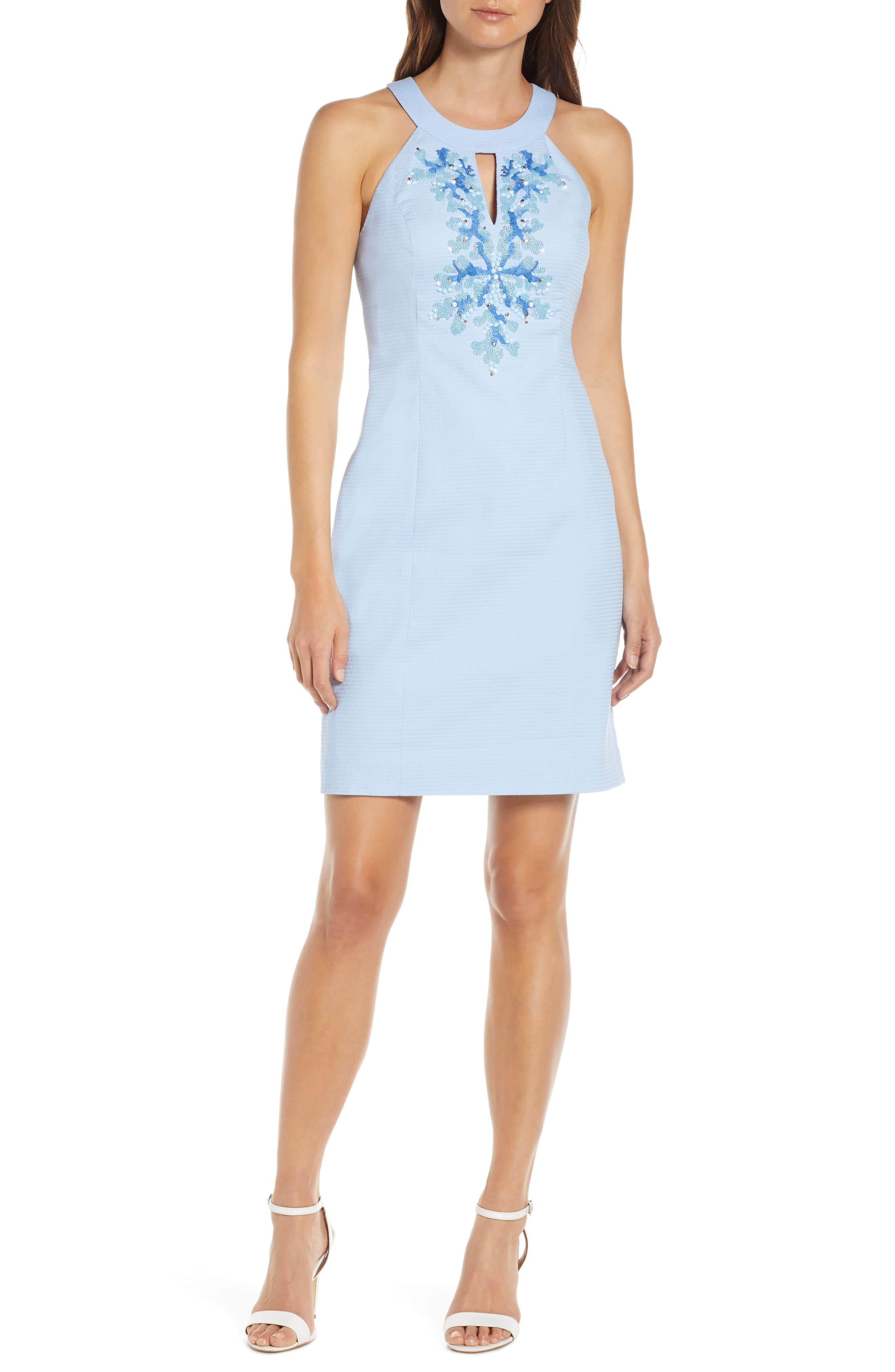 Lilly Pulitzer Jena Beaded Sheath Dress Nordstrom Trendy Cocktail Dresses Women S Fashion Dresses Fashion Clothes Women [ 4048 x 2640 Pixel ]