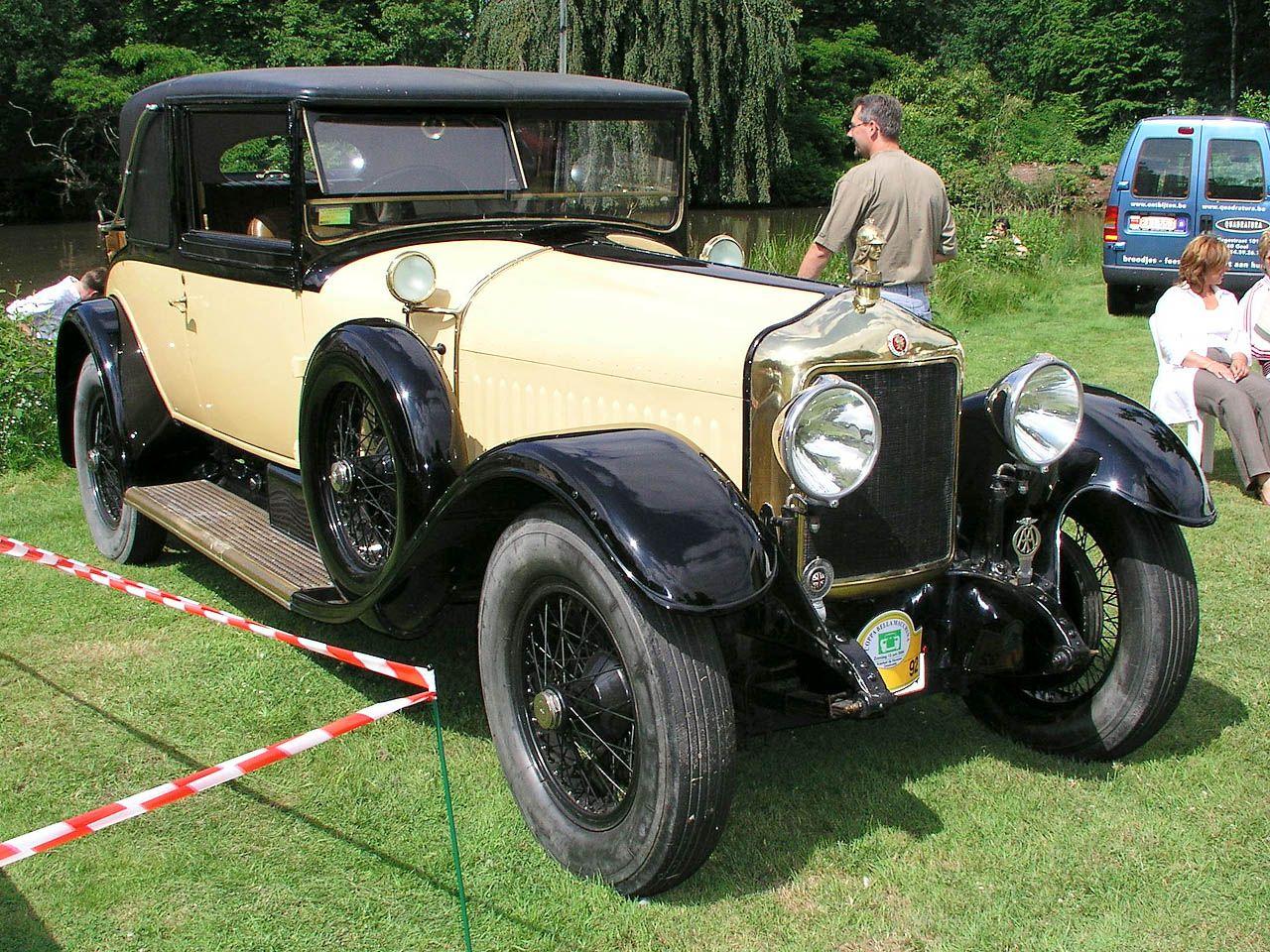 1926 minerva af 30 cv landau coupe