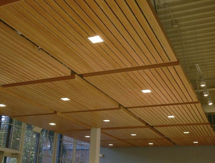 Lovely Bat Ceiling Ideas Wood Panel With Square Downlights Awesome Finishing