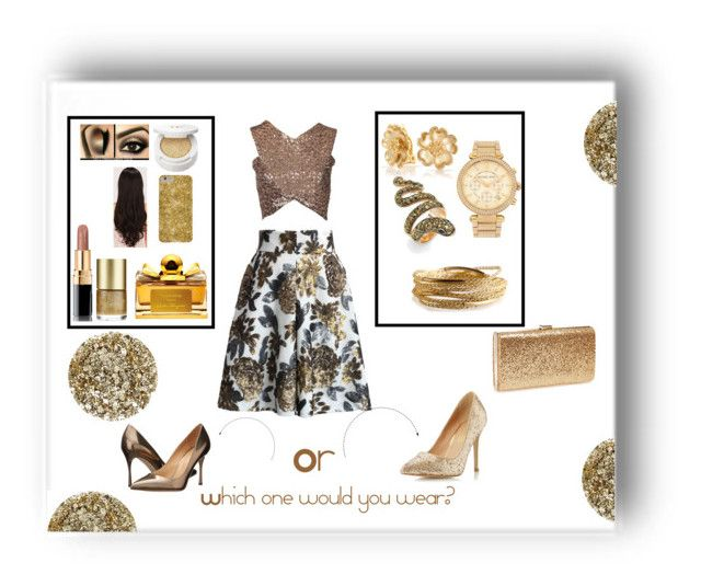 """Sparkles all the way"" by madhu-147 ❤ liked on Polyvore"