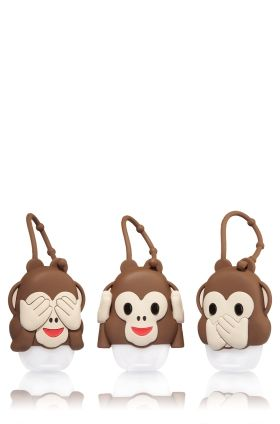 Bff Monkeys Set Of 3 Pocketbac Holders Bath Body Works Bath