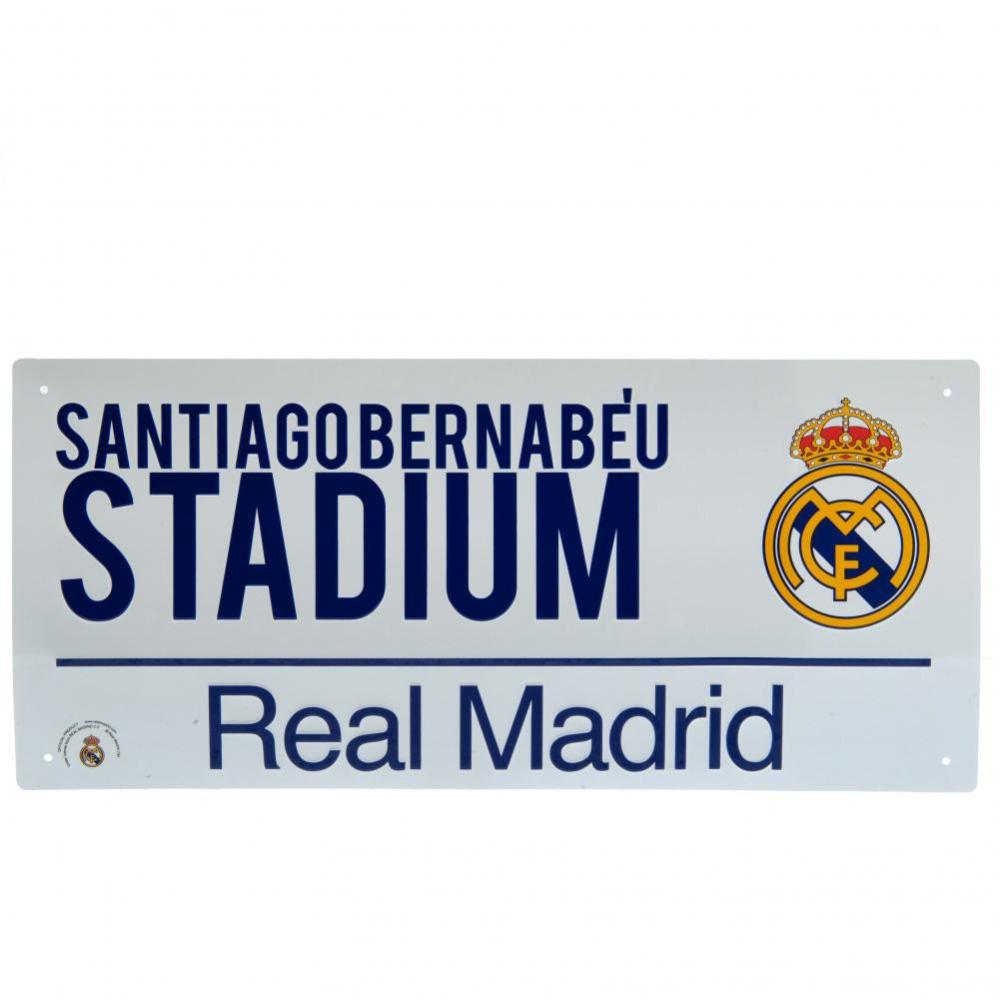 Tabliczka Real Madryt Rm G349 Podstadionem Pl Street Signs Madrid Real Madrid