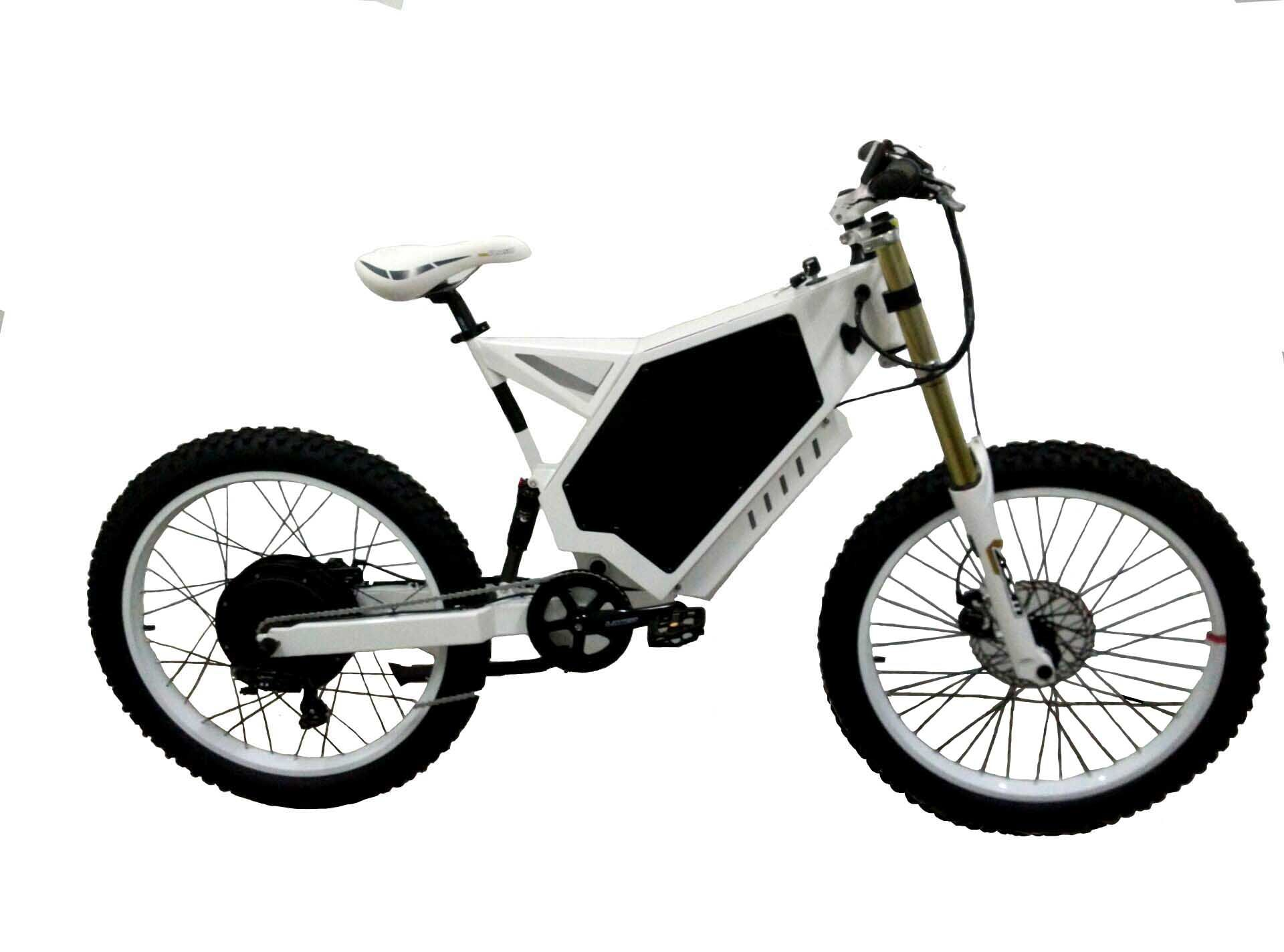 Stealth Bomber Electric Bike With Its High Speed And Good Ability