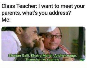 When The Class Teacher Wants To Meet Your Parents