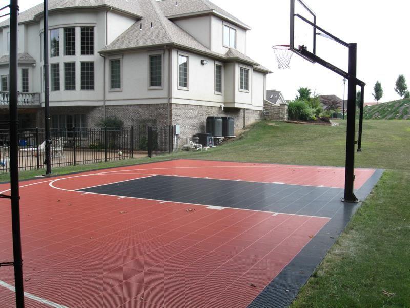 Backyard Courts Gallery Sport Court Basketball Court Backyard Home Basketball Court Backyard Court