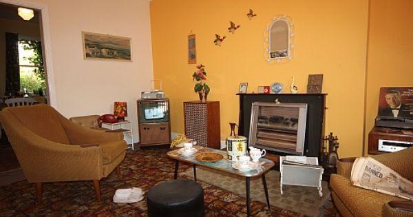 British living room