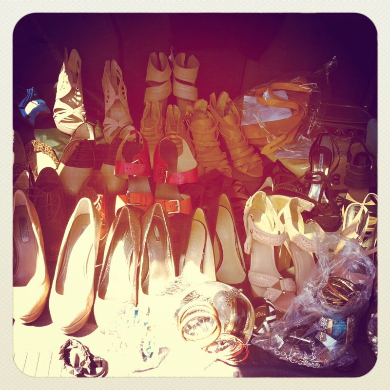 SHOE HEAVEN!!!    Behind the scenes of our Street Chic: Adam Lippes sale ♥