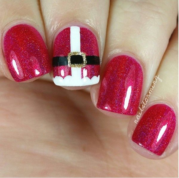 30 Totally Cute Christmas Designs For Short Nails Nails