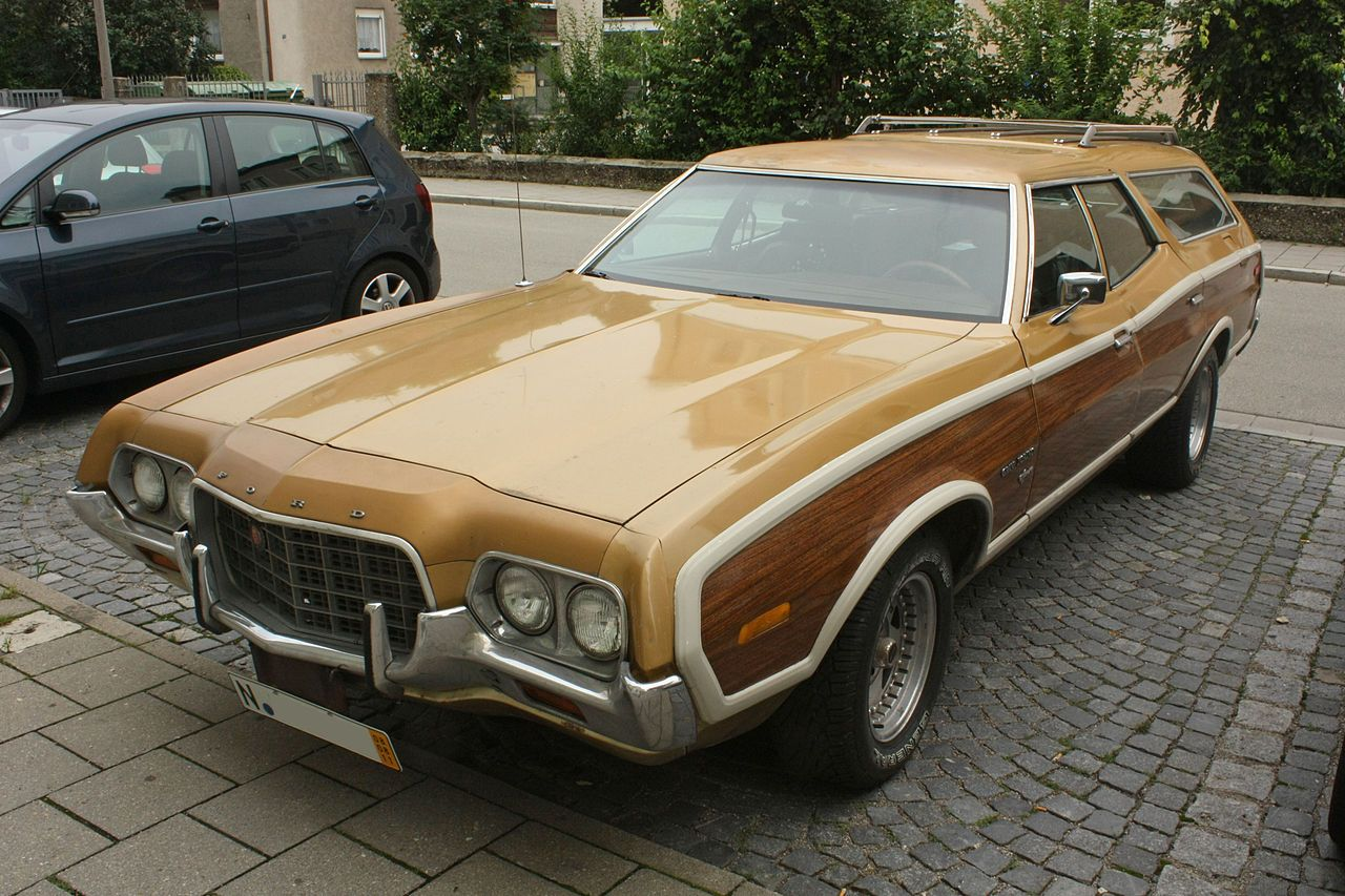 1972 Ford Gran Torino Squire Station Wagon Ford Torino Station