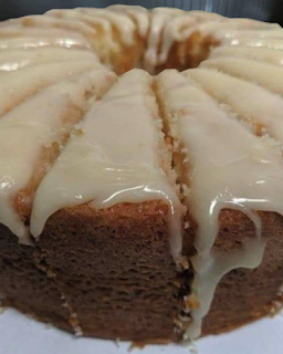 Vanilla Buttermilk Pound Cake With Cream Cheese Glaze The Pioneer Wife In 2020 Pound Cake Recipes Homemade Alfredo Sauce Alfredo Sauce Recipe Homemade