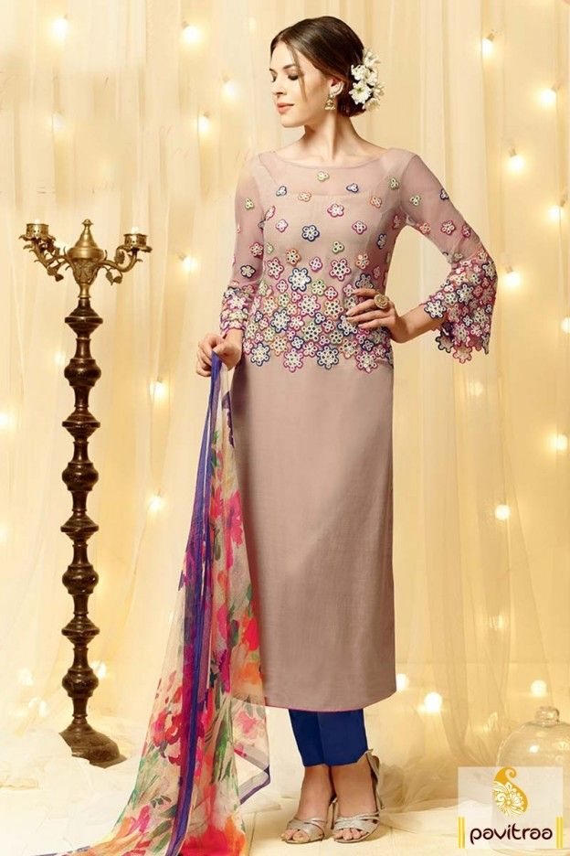 #Manjaree #Beige and Blue #Cotton #Pakistani Dress Online, #salwarsuit, #salwarkameez, #partywearsalwarsuit,  #straightsalwarsuit, #embroiderysuit, #designersalwarsuit,  #churidarsalwarkameez,  #partywearsalwarsuit, #weddingwear, #plussizedresses, #longdresses, #marriagewear,  #valentinedresses  More: http://www.pavitraa.in/catalogs/new-arrivals-salwar-suits-for-special-occasions/ Any Query :  Call / WhatsApp : +91-76982-34040 E-mail: info@pavitraa.in