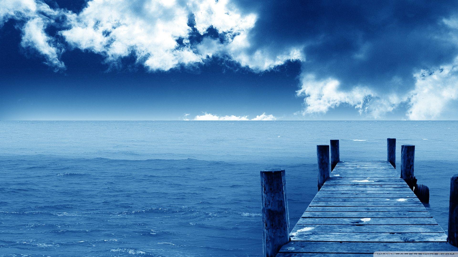Blue Nature Beach HD Wallpaper[1920x1080]  Ocean wallpaper