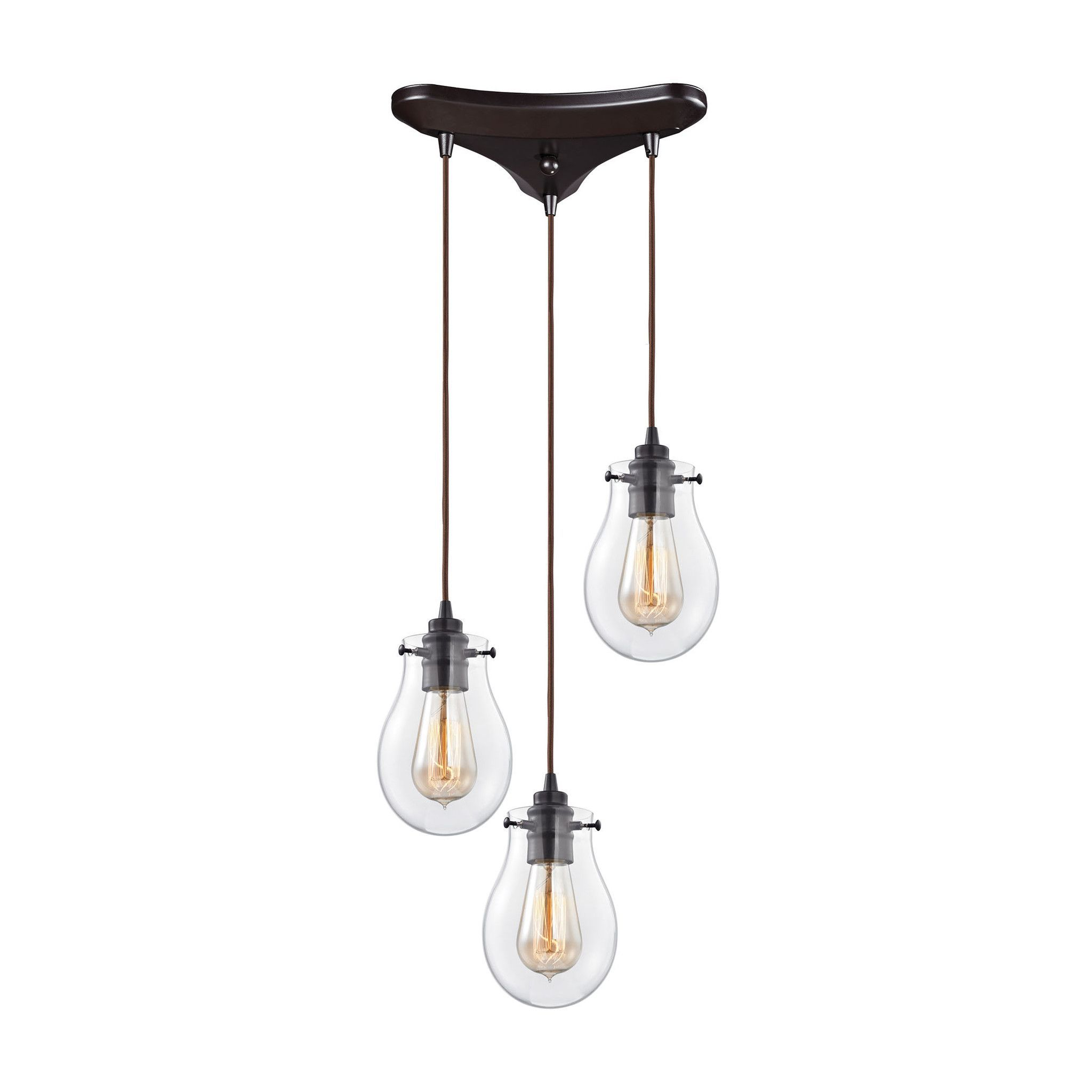 ELK Lighting 31934/3 Jaelyn Collection Oil Rubbed Bronze Finish