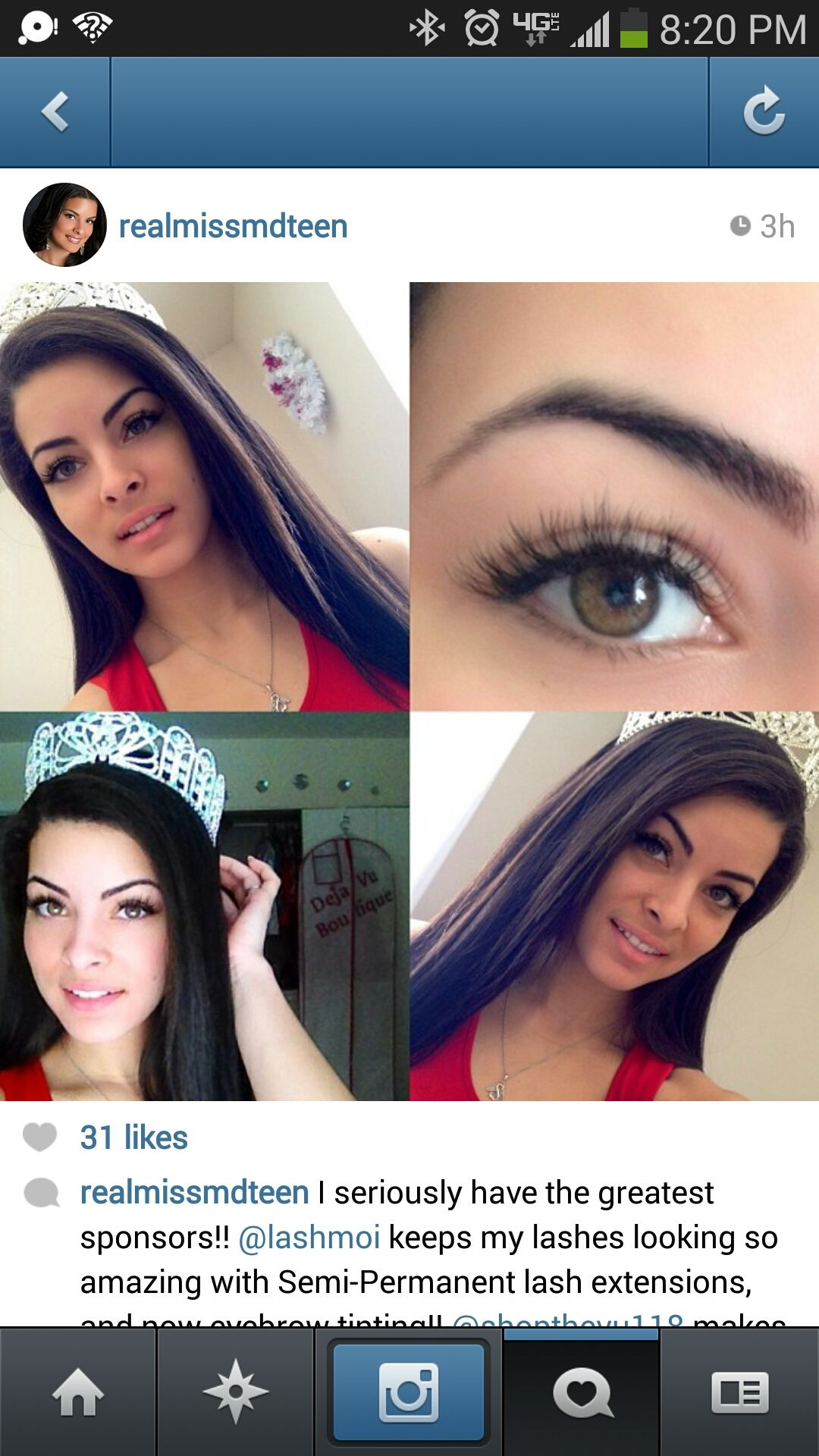 523de00fa2a Repost: Miss Maryland Teen in Lash Moi Extreme lashes! #extreme #lashmoi