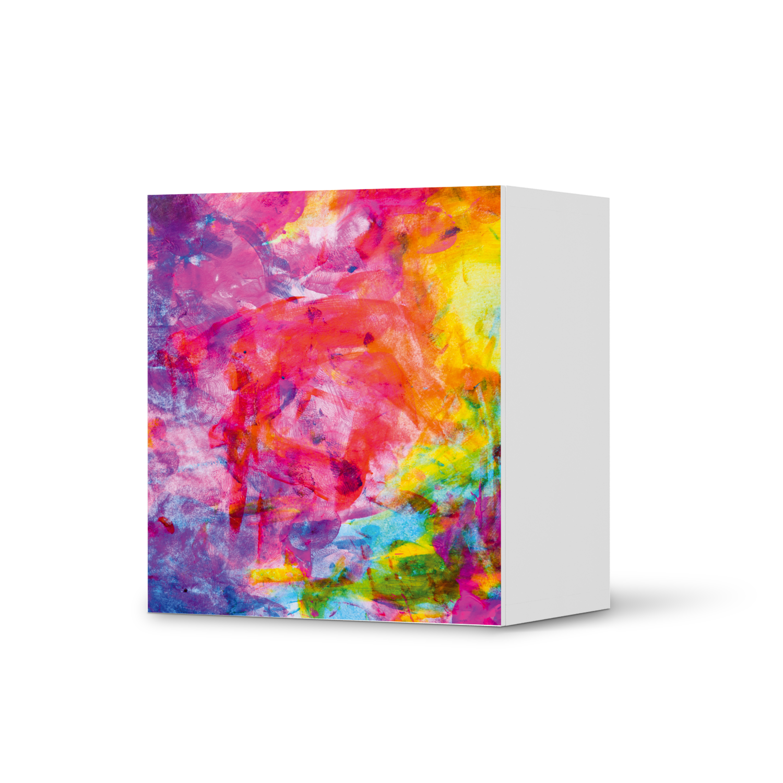 Designfolie Abstract Watercolor (Besta Regal 1 Tür Element)
