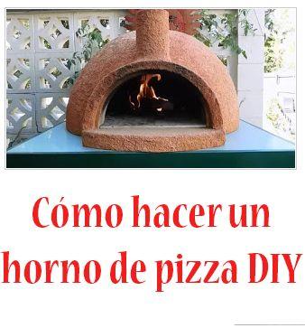 Cómo hacer un horno para pizza fácil Video tutorial  Cómo hacer un horno para pizza fácil