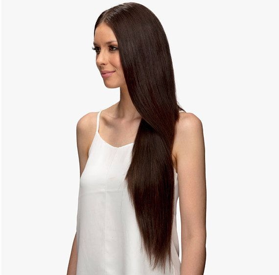 Clip In Remy Human Hair Extensions Seamless Double Drawn Ultra