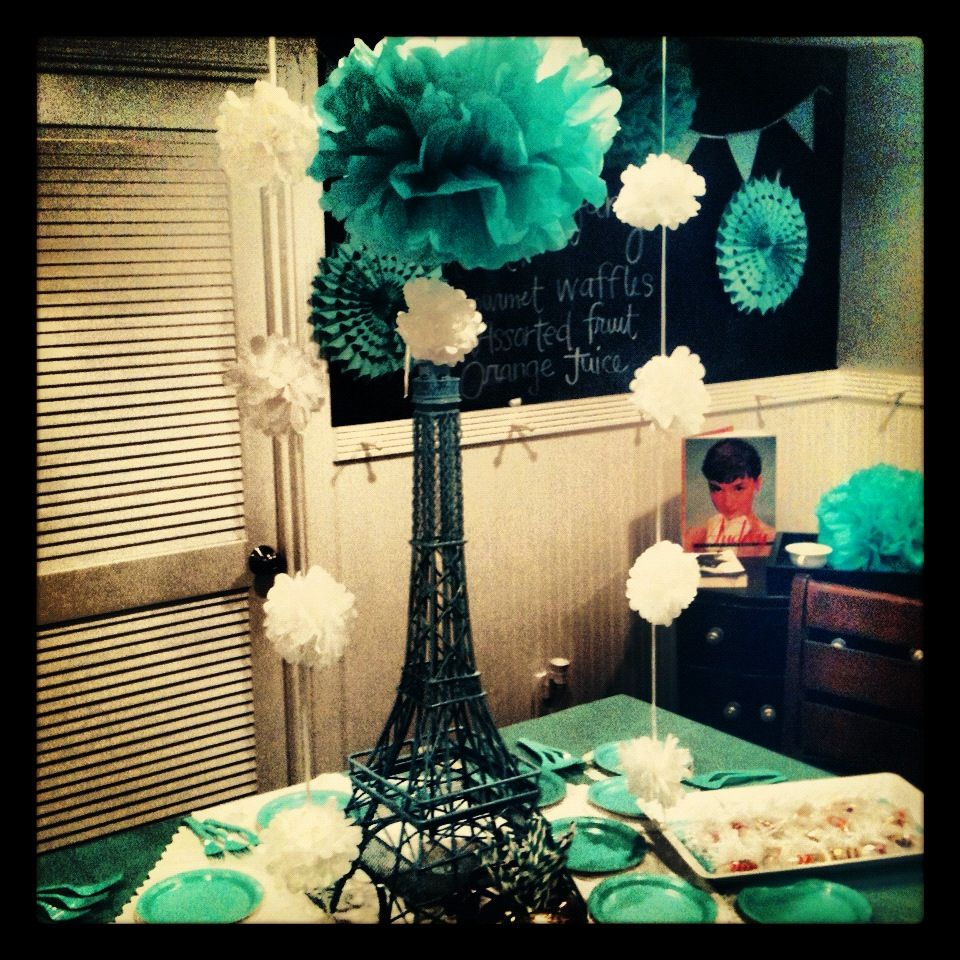 Tiffany Themed Party For Keira S 18th Birthday: Share