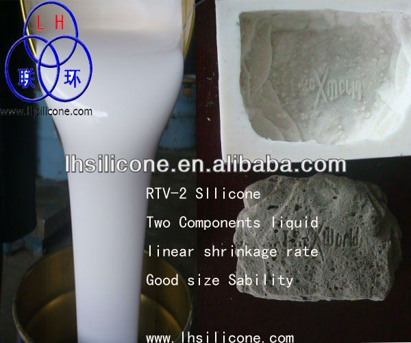 Liquid Silicone Rubber For Stamped Concrete Molds Making