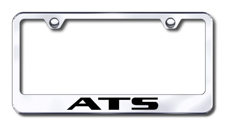 Cadillac ATS License Plate Frame is made in the USA | Cadillac ...
