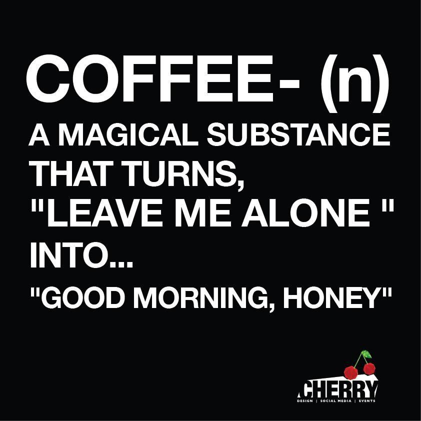 Cherry , Coffee...Good Morning!!