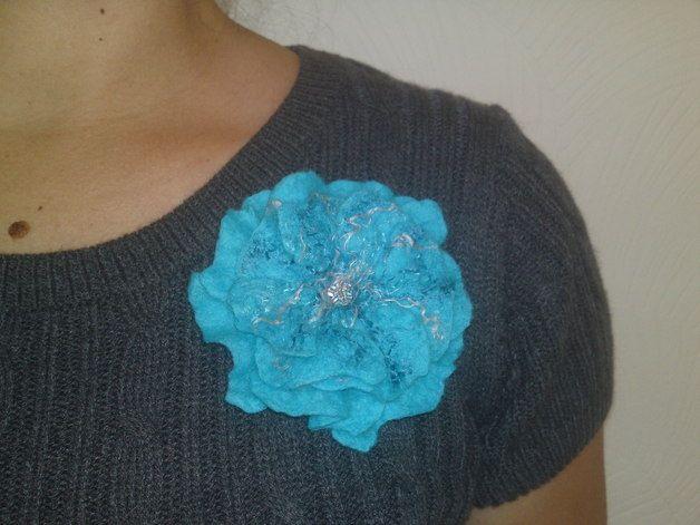 Scarves – Handmade felted scarf – a unique product by RutaFelt on DaWanda