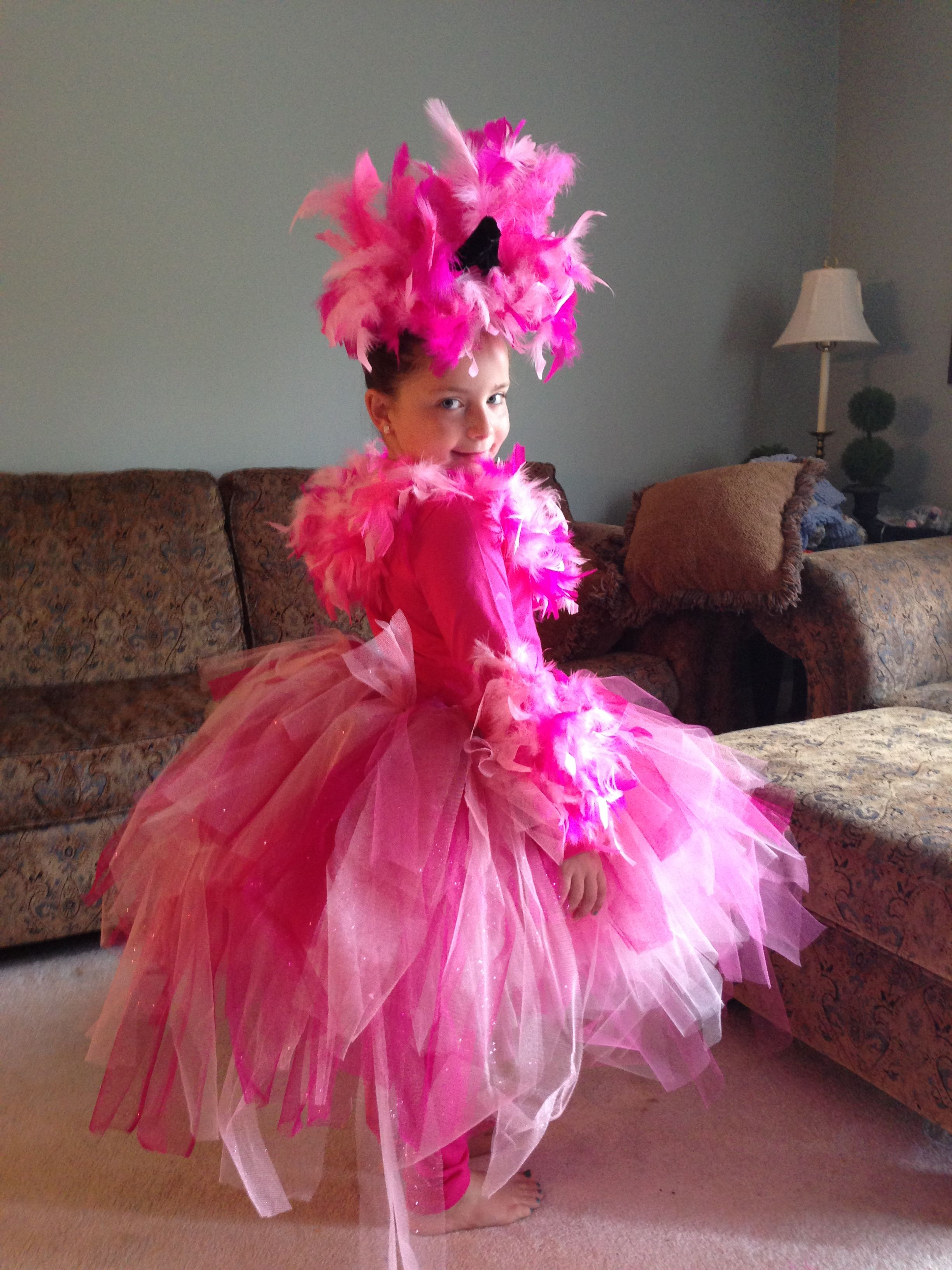 Pink Flamingo Halloween Costume