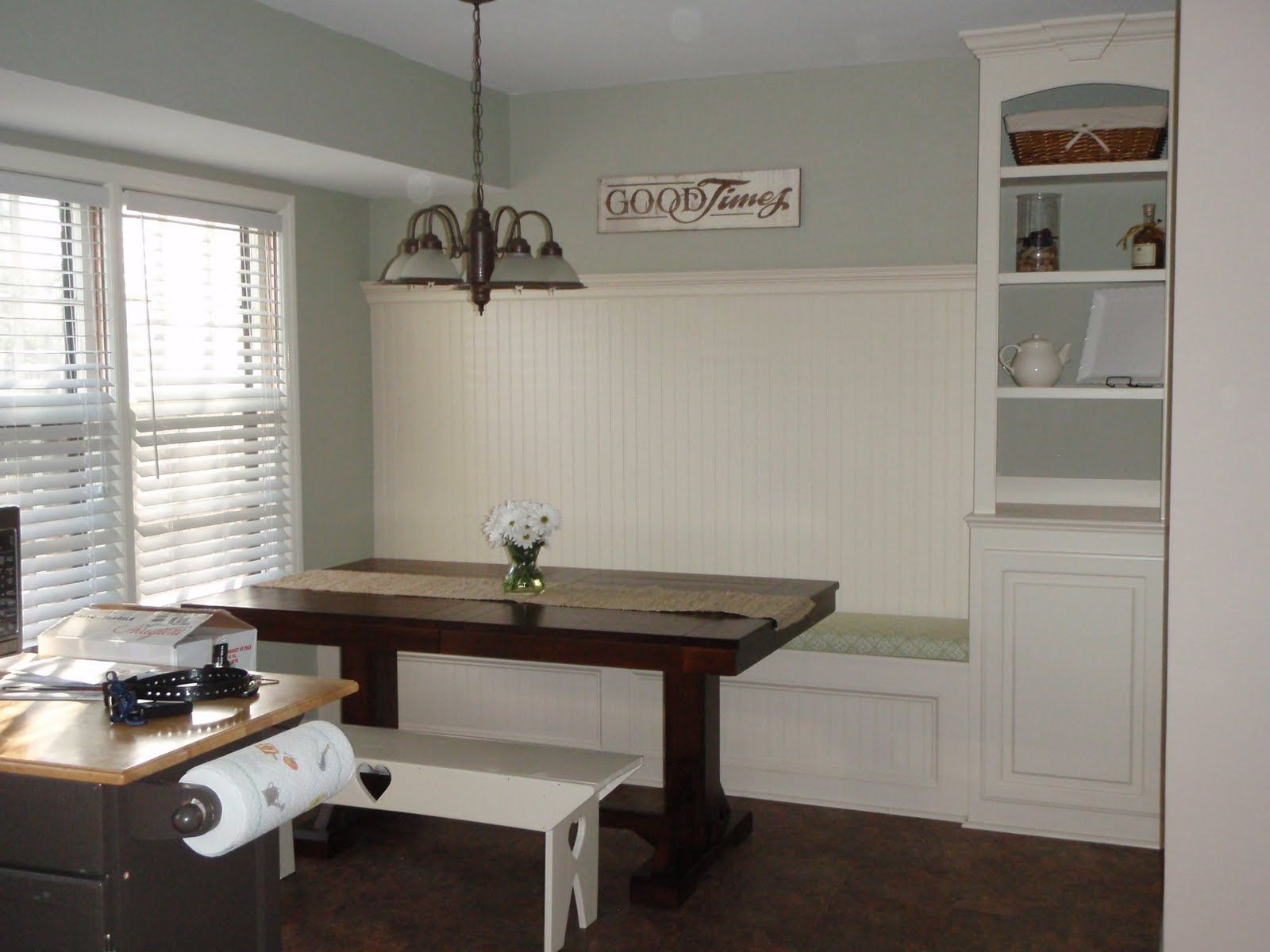 Beautiful Kitchen Renovation With Built In Banquette Seating Bench Seat