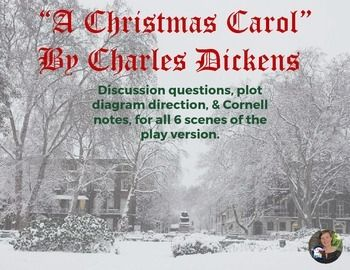 a christmas carol cliff notes