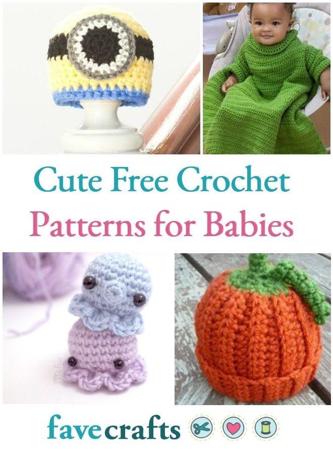 31 Cute Free Crochet Patterns For Babies Pinterest Free Crochet