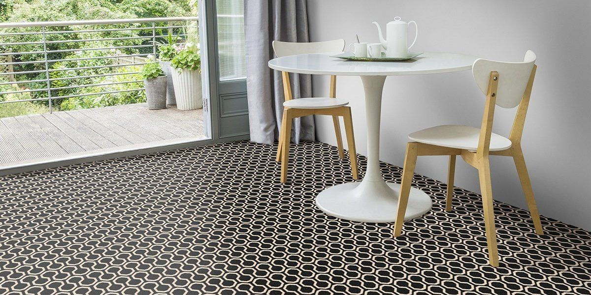Alternative Flooring Quirky B Black Carpet