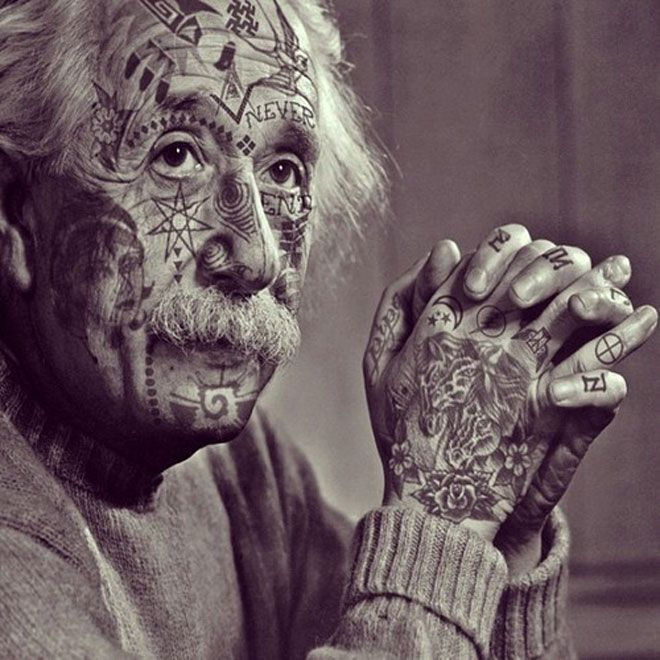 Spock And 13 Other Icons Covered In Tattoos Because Photoshop