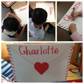 A Day In The Life Of A Kindergartner Valentine Envelopes Complete Envelope Happy Valentines Day Cards