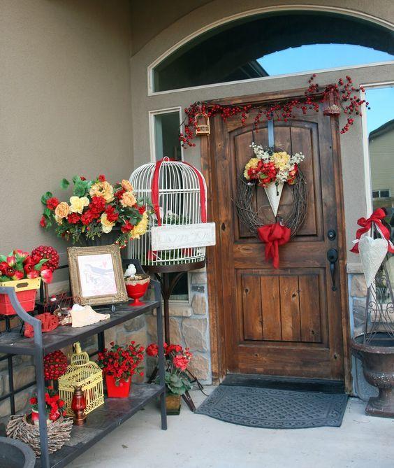 sweet-and-cute-valentine-porch-decor-ideas-12. & sweet-and-cute-valentine-porch-decor-ideas-12.jpg (564×669) | Heart ...