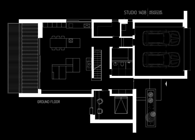 2 Plan Parterr Architectural Floor Plans Penthouse Apartment Floor Plan Architecture