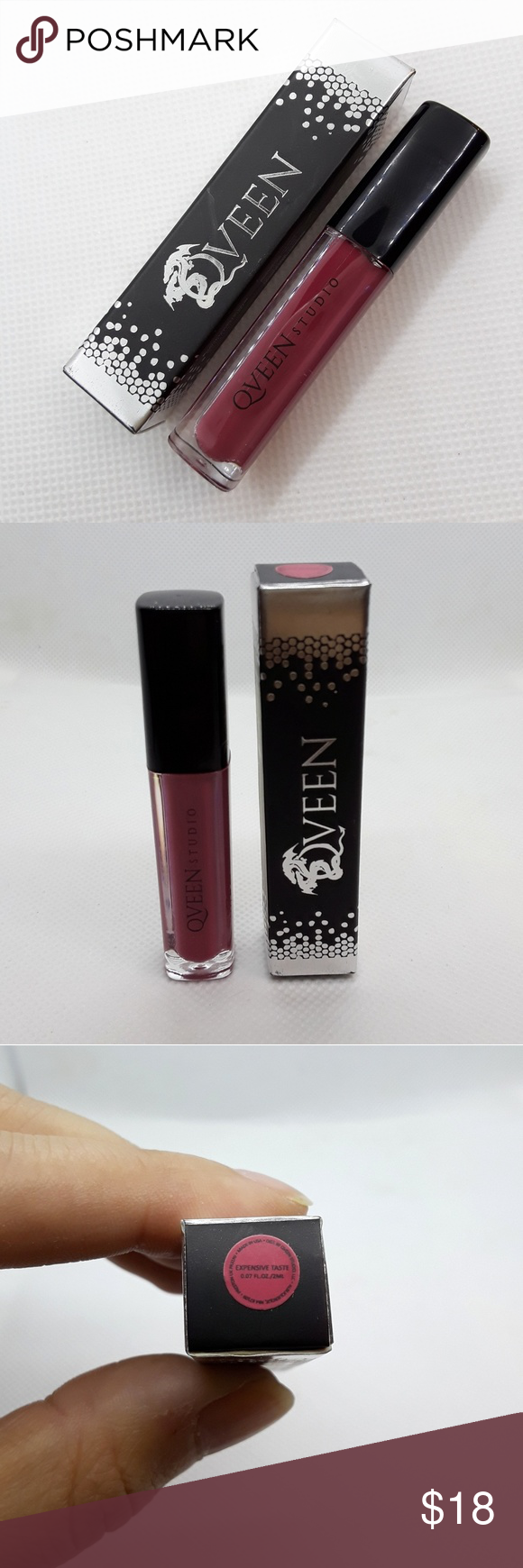 Qveen Expensive Taste Matte Lip Satin Matte Lip Satin by Qveen in the color