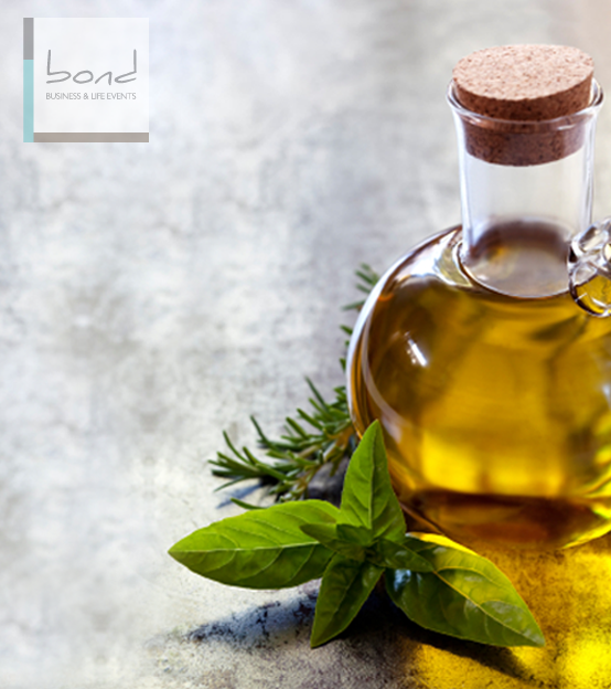 Bond will find you an olive oil estate with tours and tastings  at http://bondeventplanning.com/